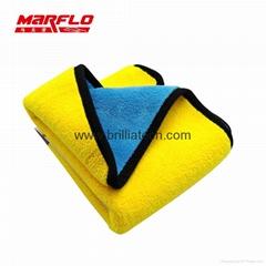 超级吸收剂洗车超细纤维毛巾汽车清洁干燥的布