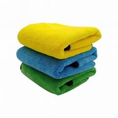超细纤维清洁布厨房抹布的超细纤维毛巾盘毛巾,浴巾,洗车