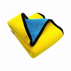 加厚吸水双面高密度擦车玻璃毛巾双色清洁车用干燥毛巾
