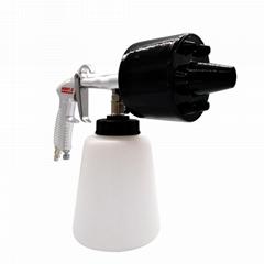 高压水枪洗车机喷嘴清洗龙卷风高压手持式清洁汽车气压清洗枪