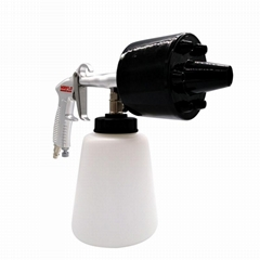 高壓水槍洗車機噴嘴清洗龍卷風高壓手持式清潔汽車氣壓清洗槍