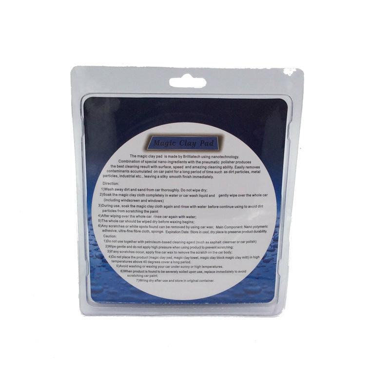 car polishing pad with handle