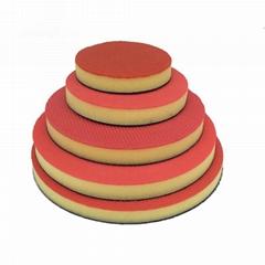 氣動美容魔泥盤清潔拋光去污自粘式海綿盤魔朮納米海綿盤