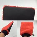 washing brush glove