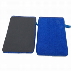 Magic Clay Bar Towel Mitt Pad Rust Converter Removert Prevention Microfiber Car