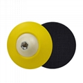 PU Backing Plate Pad Thread M14 M16 5/8-11 Flexible Polishing Pad for Car Polish