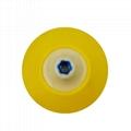 PU Backing Plate Pad Thread M14 M16 5/8-11 Flexible Polishing Pad for Car Polish