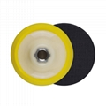 Plate Backing Pad for Polisher with Polishing Sponge Pad  Hook Loop Backing Pad