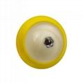 Plate Backing Pad for Polisher with Polishing Sponge Pad  Hook Loop Backing Pad