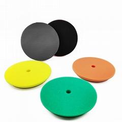 150mm氣動拋光打磨清潔盤洗車海綿泥盤汽車海綿拋光輪研磨盤
