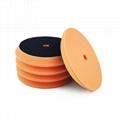 Sponge polisher pad