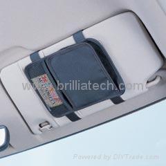 Brilliatech Car Accessories CD Pocket For Sun Shade