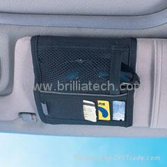 深圳汽車精品太陽檔布包車用收納袋