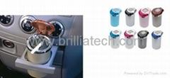 布地兰北京汽车精品太阳能夜光烟灰缸