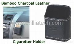 布地蘭東莞市汽車精品精炭皮車用收納証件袋