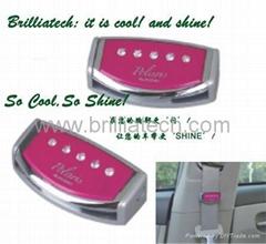Brilliatech Car Accessories Safty Diamond Belt Clip