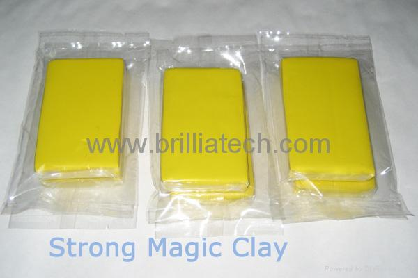 3pcs car wash clay bar paint detail clean magic mud packed in pp box auto care