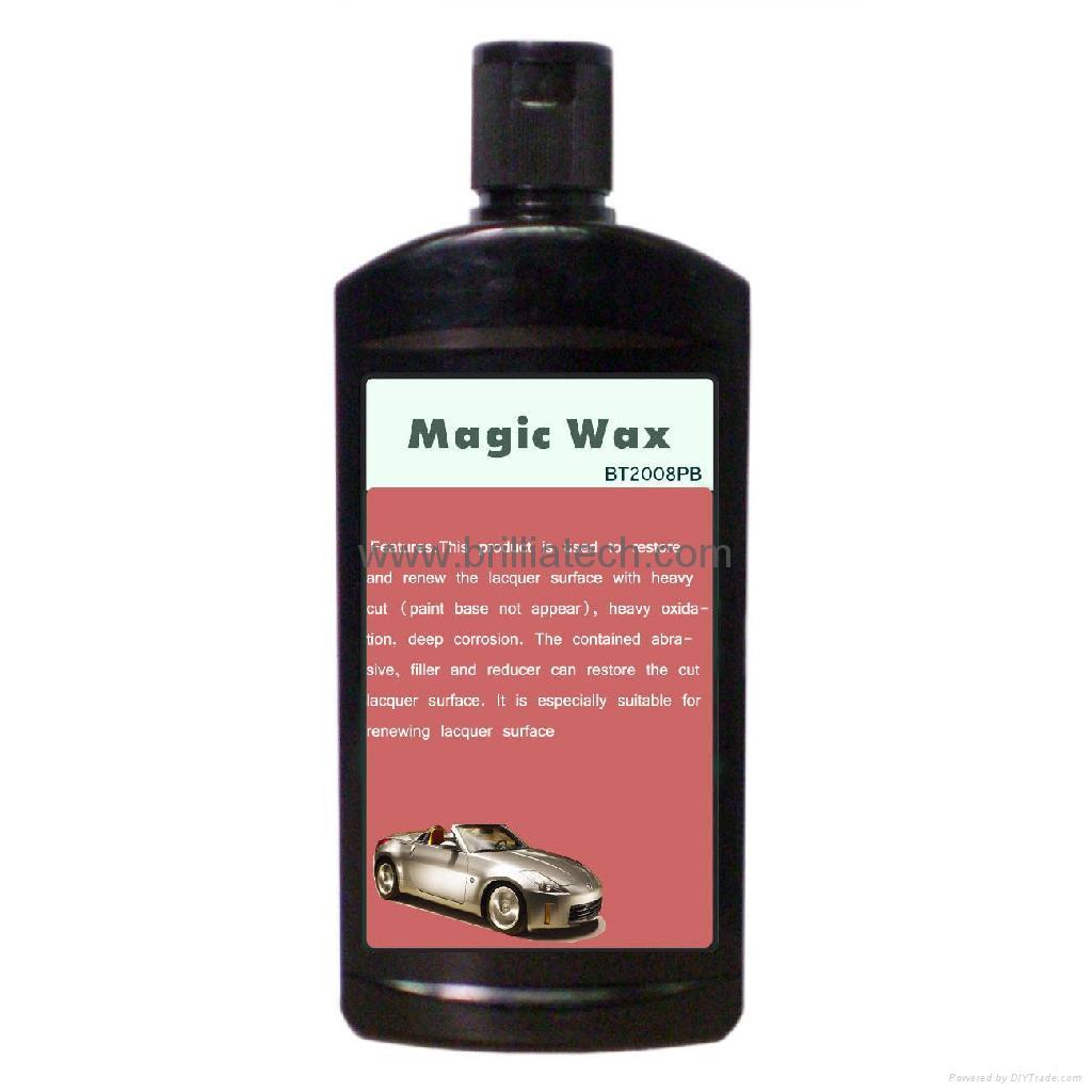 car polished wax