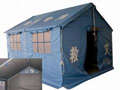 单帐篷12平方米救灾用