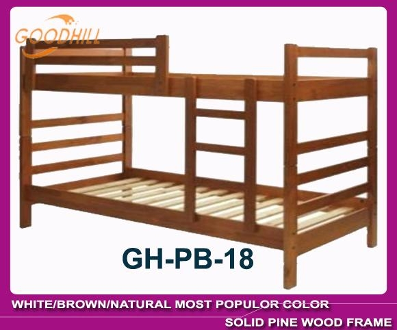 solid white color bunk bed in modern style 3