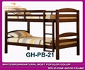 solid white color bunk bed in modern style 4