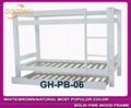 solid white color bunk bed in modern style 5