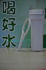 台湾溢泰康富乐净水器配件前置滤瓶 滤壳 滤桶