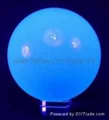 UV acrylic contact j   ling ball