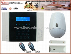 Wireless Home GSM PSTN Telephone Security Burglar Alarm touch Keypad(BE400-1)