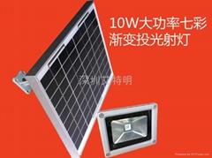 太陽能射燈