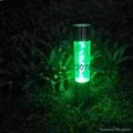 不鏽鋼太陽能草坪燈