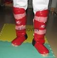 Taekwondo shin and instep protector