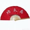 Taichi bamboo fan