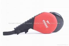 Double kicking target / kick paddle