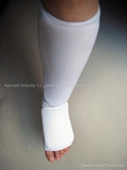 針織護腿連腳背