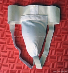 Cotton groin guard