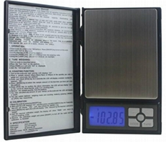 Notebook scale 500g/0.01g