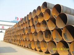 water steel pipe line