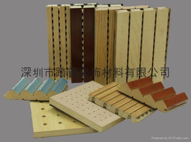 深圳踏普木质槽孔吸音板 4