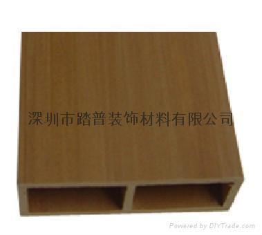 深圳踏普生态木方通装饰板 1