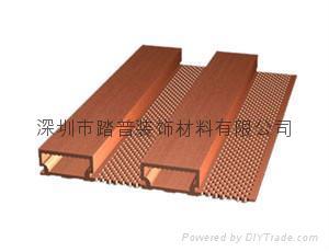 深圳踏普生态木195长城吸音板 3