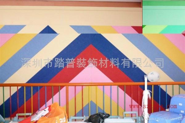 香港聚酯纤维吸音板 5