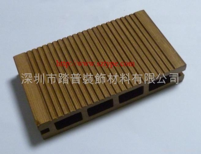 深圳踏普生态木140×25户外地板 2