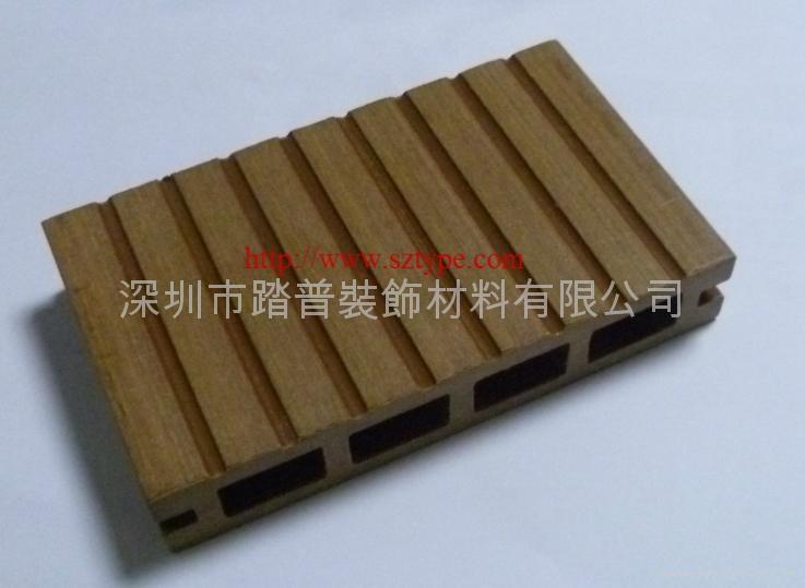 深圳踏普生态木140×25户外地板 3