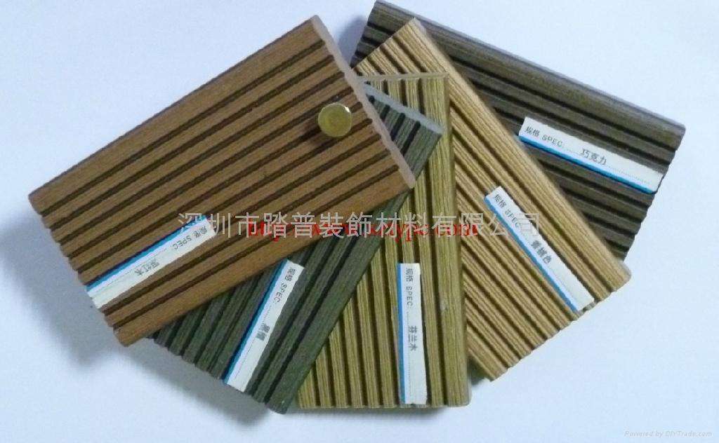 深圳踏普生态木140×25户外地板 4
