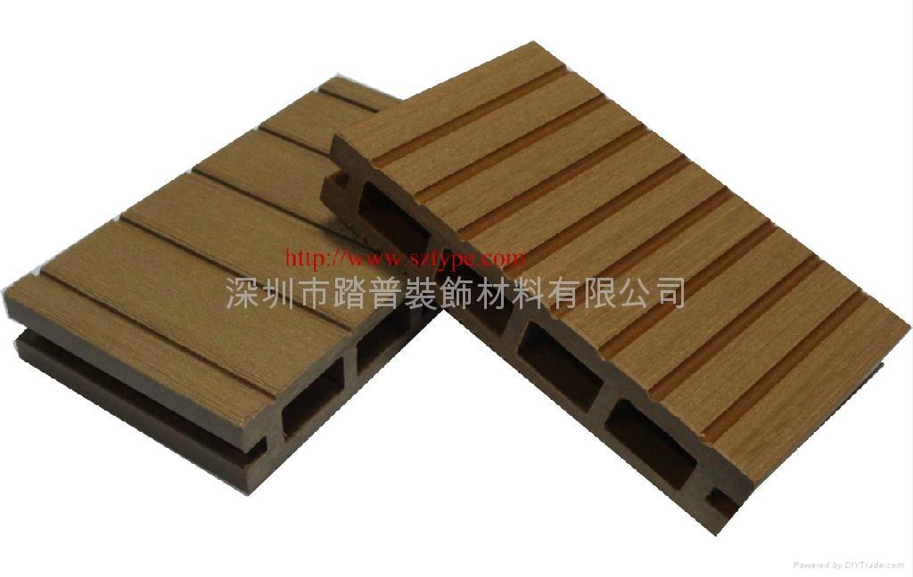 深圳踏普生态木140×25户外地板 5