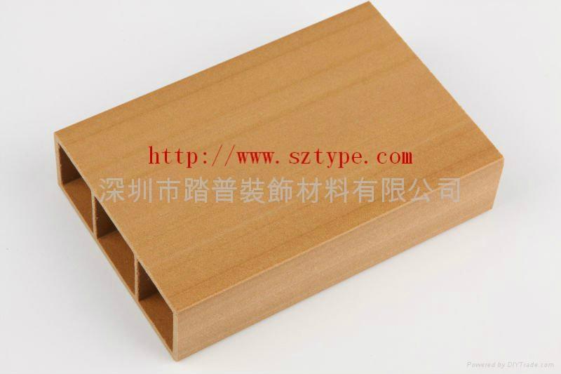 深圳踏普生态木方通装饰板 4