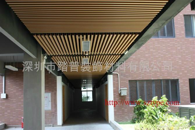 深圳踏普生态木方通装饰板 2