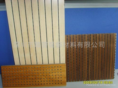 深圳踏普不燃A级防火陶铝吸音板 1