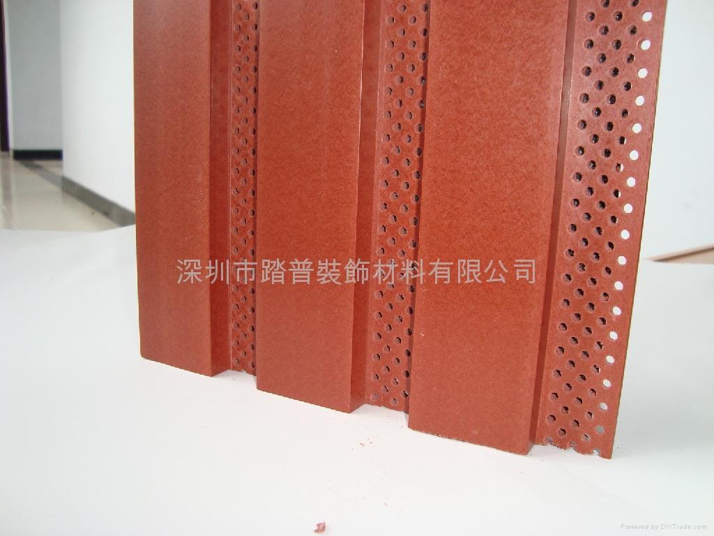 深圳踏普生态木195×15长城吸音板 2